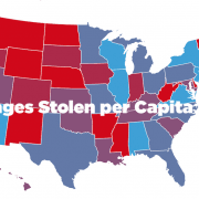 Packages Stolen per State